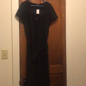 NWT J. Crew Black Jumpsuit Size 14